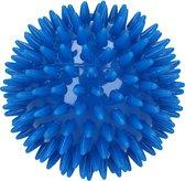 Massagebal Professionele Triggerpoint Bal – 8cm Hoge Dichtheid Massagestekels – Lacrossebal – Blauw