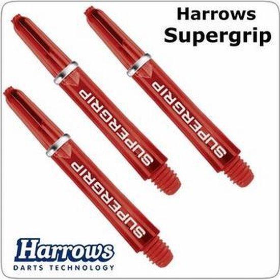 Afbeelding van het spel Harrows Supergrip Short Red  Set 3 stuks