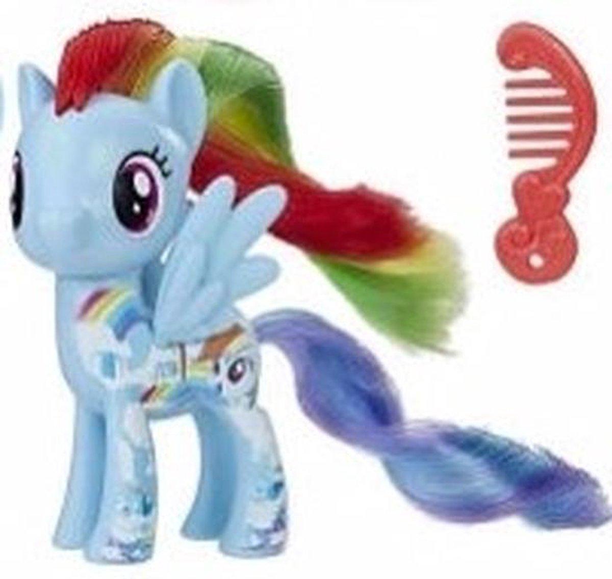 My Little Pony speelfiguur paardje Rainbow Dash 8 cm - My Little Pony