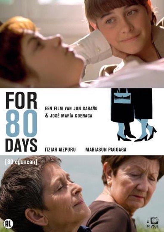 Cover van de film 'For 80 Days'