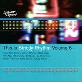 This Is Strictly Rhythm Vol. 6