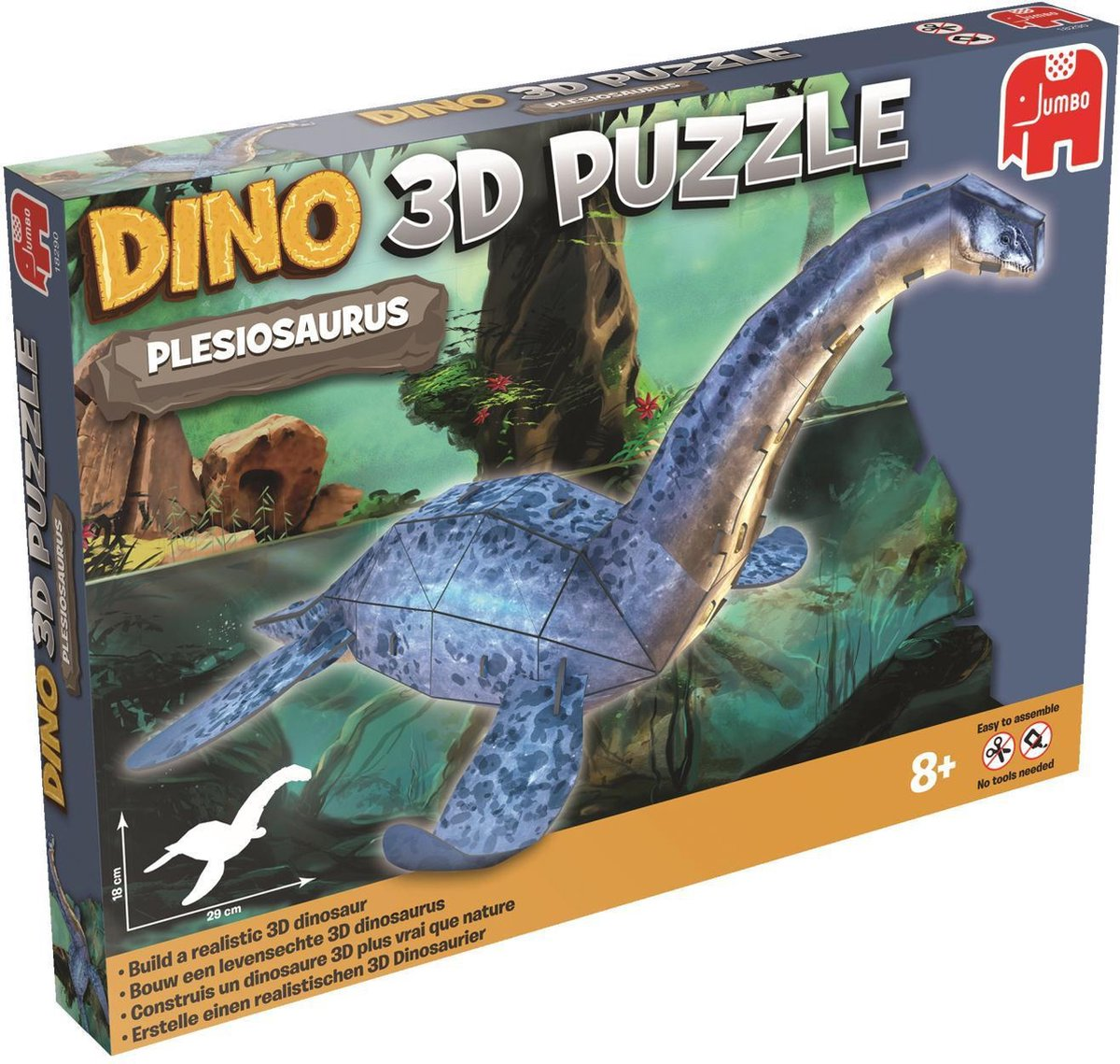 Dino 3D Puzzle Plesiosaurus