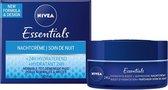 NIVEA Essentials Herstellende Nachtcrème - 50ml