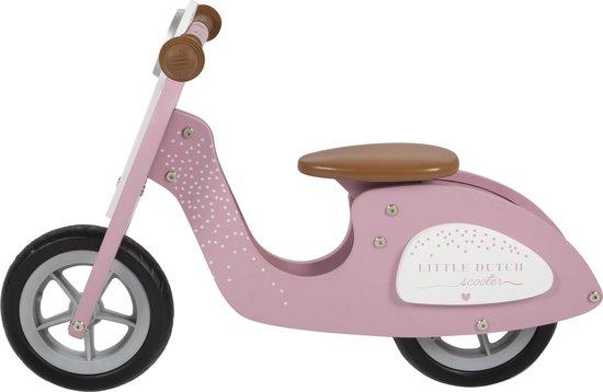 Product: Little Dutch Verstelbare Loopscooter Roze, van het merk Little Dutch