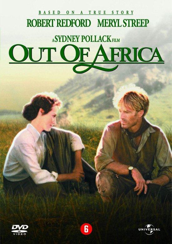 Cover van de film 'Out Of Africa'