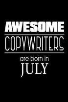 Awesome Copywriters Are Born in July