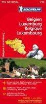 Belgien - Luxemburg 1 : 350 000 Nationalkarte