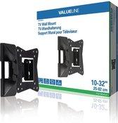 Afbeelding van Valueline VLM-MFM11 TV Muurbeugel Draai- en Kantelbaar 10 - 32  30 kg Zwart