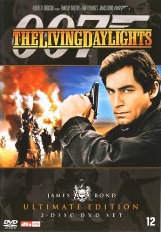 Cover van de film 'James Bond - Living Daylights'