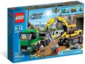 LEGO City Graafmachinetransport - 4203