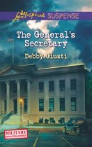 Omslag The General's Secretary (Mills & Boon Love Inspired Suspense) (Military Investigations - Book 4)