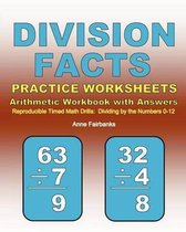 Division Facts Practice Worksheets Arithmetic Workbook with Answers