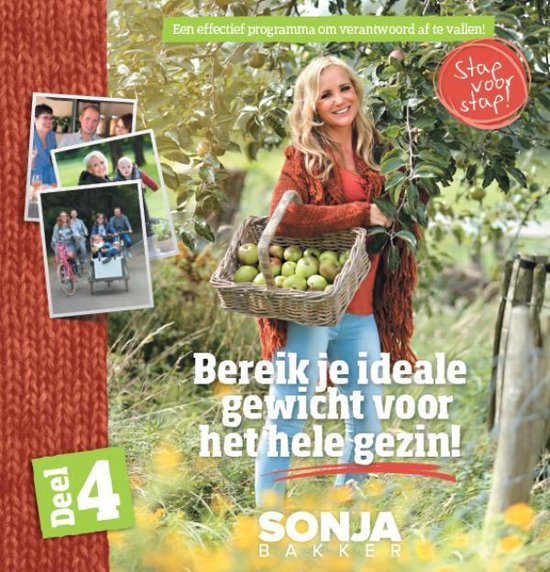 Boek cover Bereik je ideale gewicht voor het hele gezin 4 van Sonja Bakker (Paperback)