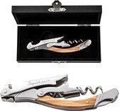 Laguiole Style de Vie Kurkentrekker - in giftbox - Olijfhout
