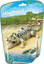 Playmobil alligator met kleintjes