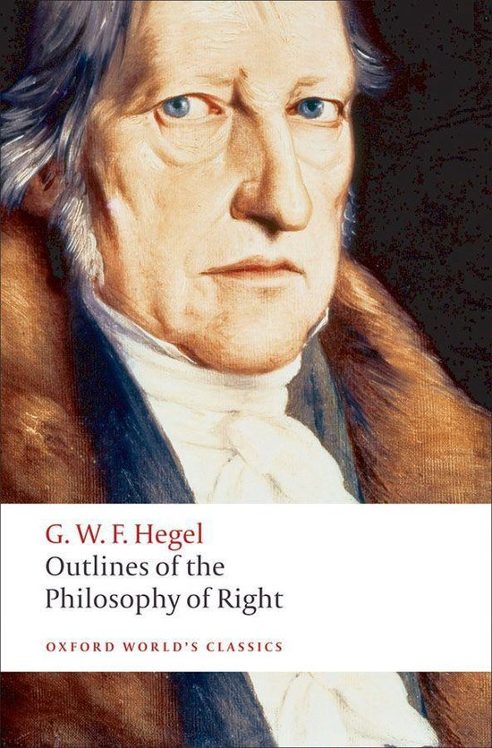 Boek cover Outlines of the Philosophy of Right van G. W. F. Hegel (Onbekend)