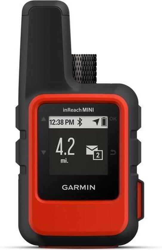 Garmin inReach Mini GPS tracker Persoonlijk Zwart, Rood