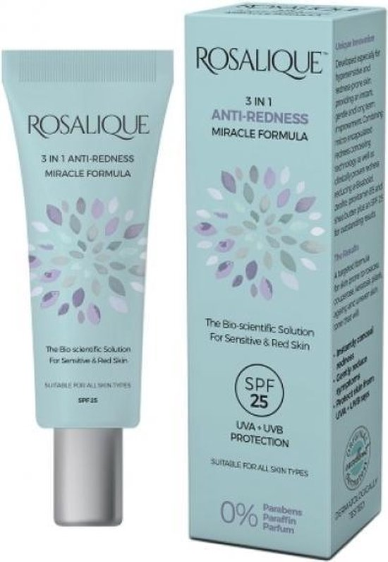 Rosalique - Anti-Redness Miracle Formula - 0%parfum - 30ml