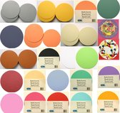 Ronde Kaarten Set - Ø 13,5cm - 40 Kaarten en 40 Enveloppen - 10 Kleuren - Maak wenskaarten voor elke gelegenheid