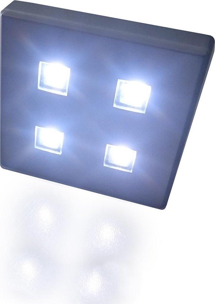 TRONIX set met 6 LED-modules, 230V/12V, plug-and-play, lichtkleur WIT | 158-001