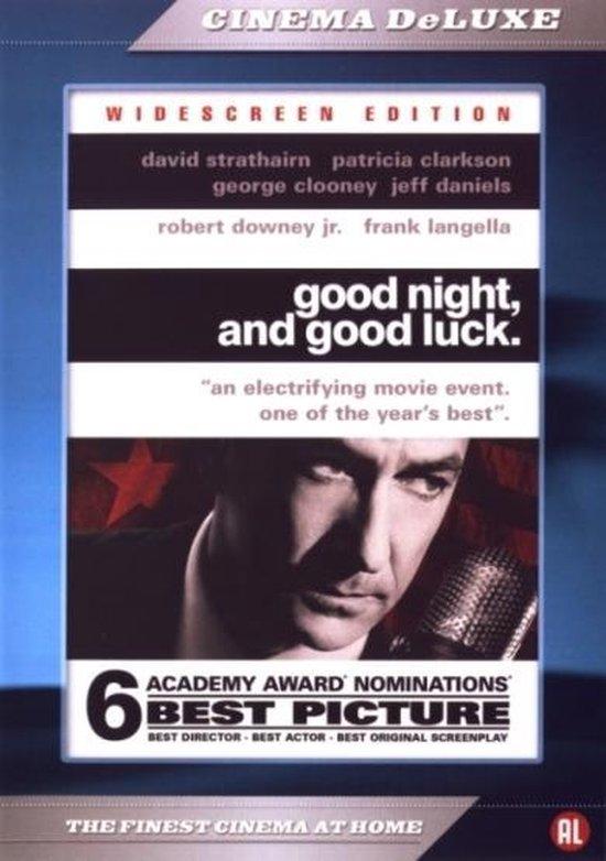 Cover van de film 'Good Night, And Good Luck'