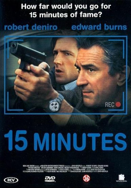 Cover van de film '15 Minutes'