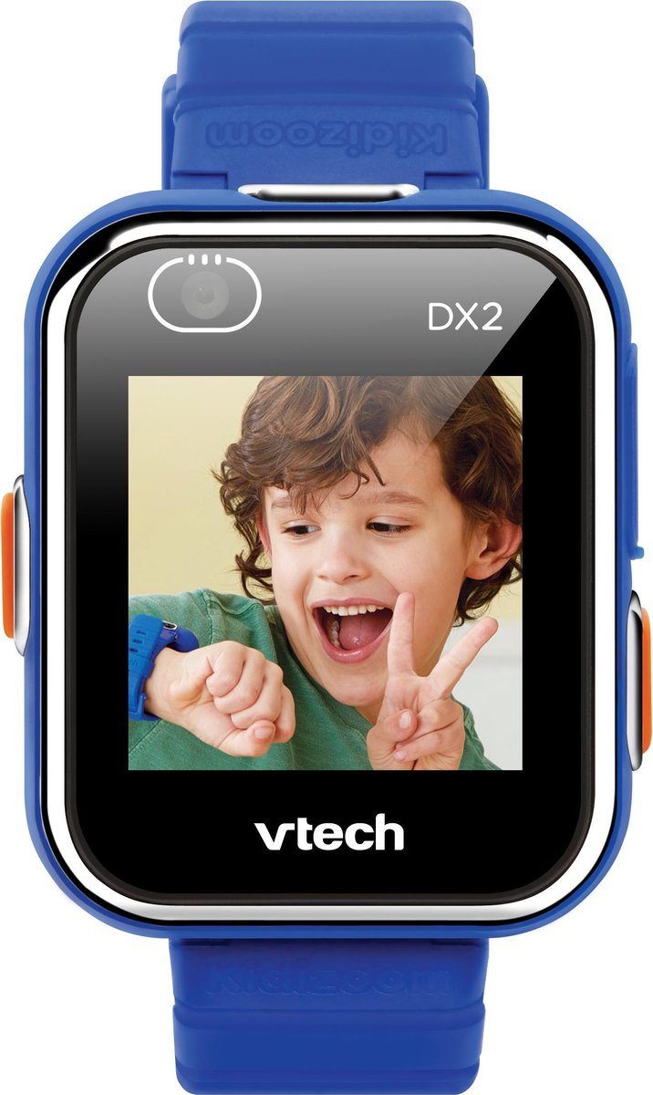 VTech - KidiZoom - Smartwatch DX2 - Blauw - 5 tot 13 jaar