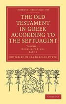 Boek cover The Old Testament in Greek According to the Septuagint 3 Volume Paperback Set van