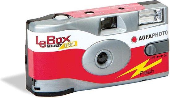 AgfaPhoto LeBox wegwerpcamera met flits voor 27 foto's