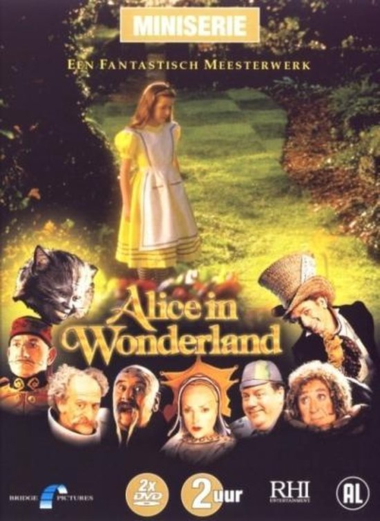 Cover van de film 'Alice In Wonderland'