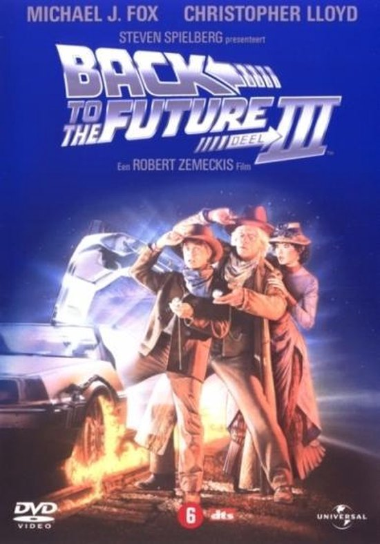 Cover van de film 'Back To The Future 3'