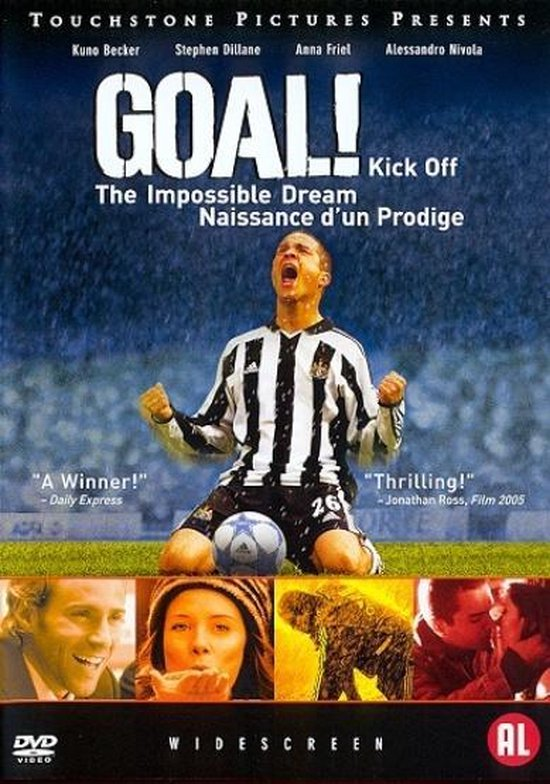 Cover van de film 'Goal!: The Impossible Dream'