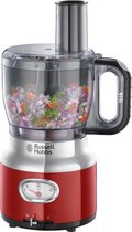 Russell Hobbs 25180-56 Retro - Foodprocessor - Rood