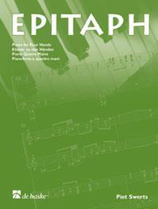 Epitaph - P. Swerts | Fthsonline.com