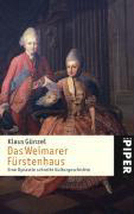 Boek cover Das Weimarer Fürstenhaus van Klaus Günzel (Paperback)