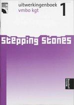 Boek cover Uitwerkingen vmbo kgt Stepping stones van
