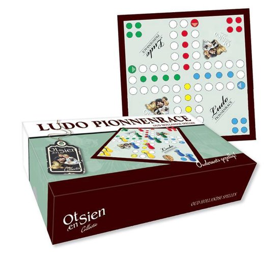 Ot en Sien collectie - Ludo pionnenrace - none |