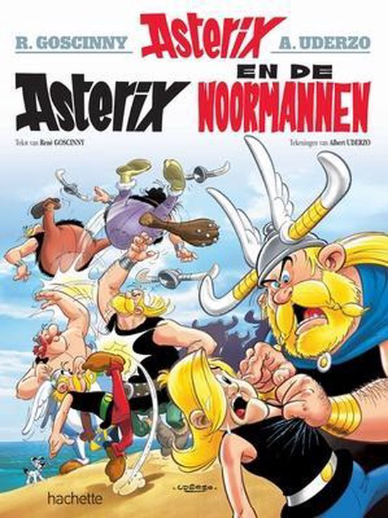 Boek cover Asterix 09. Asterix en de Noormannen van Albert Uderzo (Onbekend)