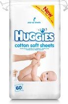 Huggies d.doekjes cotton soft 60 st