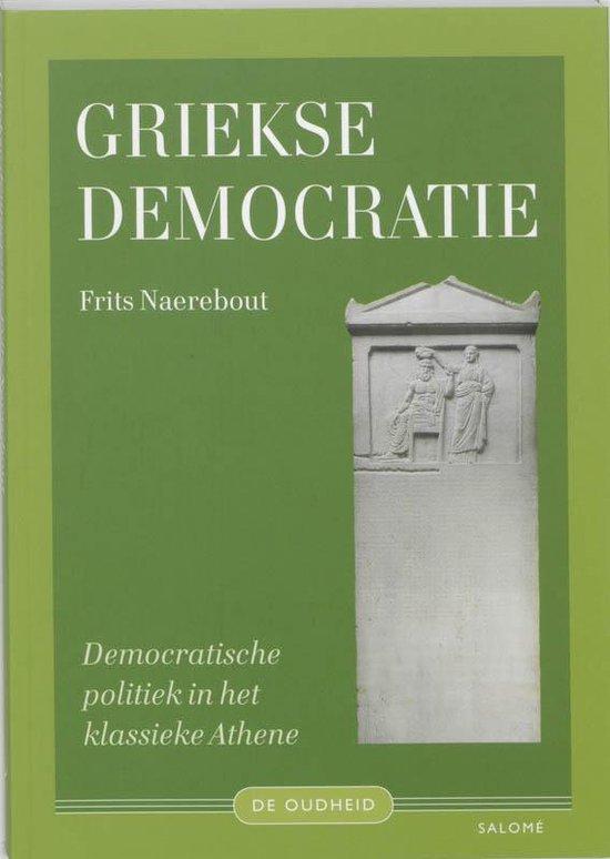 Cover van het boek 'Griekse democratie'