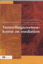 Mediation reeks 9 - Vaststellingsovereenkomst en mediation