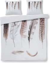Papillon Rosalie - dekbedovertrek - lits-jumeaux - 240 x 200/220 - Wit