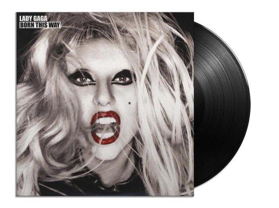 CD cover van Born This Way (LP) van Lady Gaga