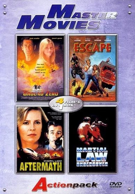 Cover van de film 'Actionpack 3'