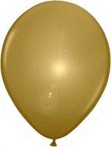 LED licht ballonnen goud 5 stuks