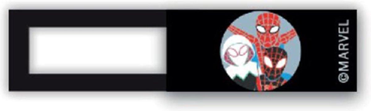 Webcam cover - licentie™ - Spiderman 03 - zwart