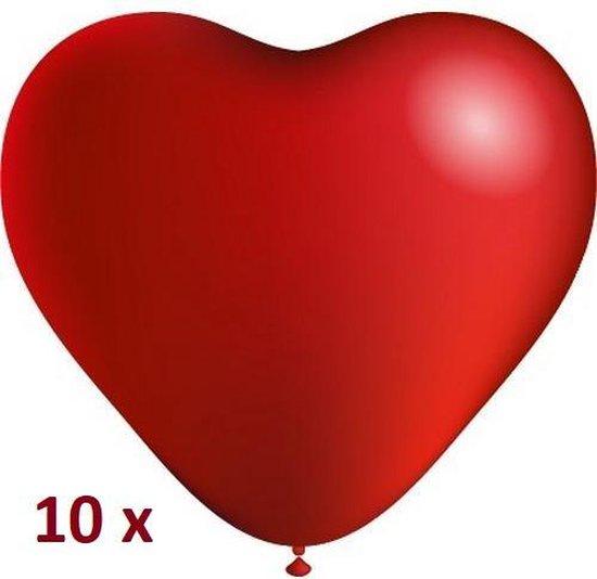 EPIN | Rode hartjes ballonnen | Valentijn | 10 stuks
