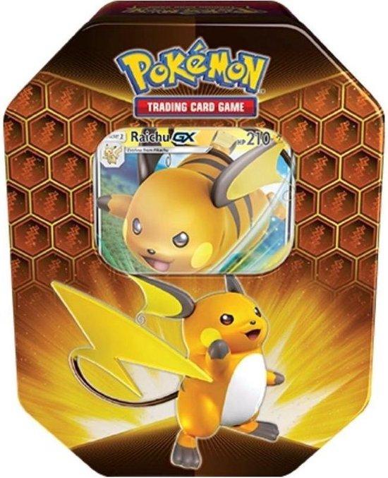 Afbeelding van het spel TCG Pokémon Hidden Fates Tin - Raichu-GX POKEMON