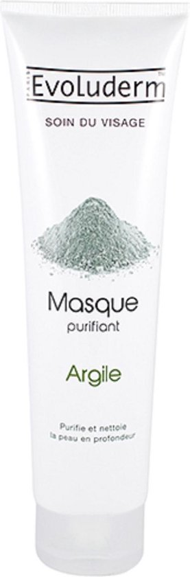 Evoluderm Zuiverende Clay gezichtsmasker 150ml