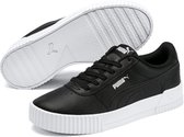 PUMA Carina L Sneakers Dames - Puma Black-Puma White-Puma Silver - Maat 39